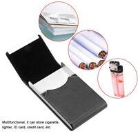 Bolsa de Tubo Estuche de Cigarrillos de  cuero de PU Organizador de Tabacos