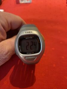 timex T5G951 Heart Rate Monitor Watch. Indiglo