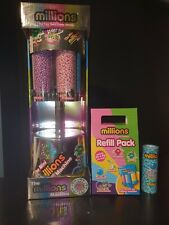Silver Millions Large Sweet Dispenser Machine & Refill Pack of Million Sweets