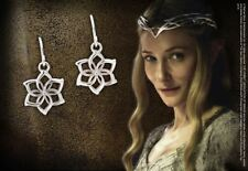 The Hobbit Lotr Galadriel Flower Earrings Sterling Silver Collectable Jewelry