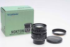 Voigtlander 50mm f1.5 Nokton Aspherical Lens LTM M39 50/1.5                 #617