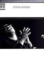 Stevie Wonder Sheet Music Note-for-Note Keyboard Transcriptions