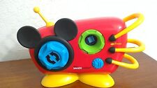 Mickey Mouse Imagicademy Shape Blaster BoomBox Musical Sing a Long Toy Boom Box
