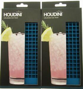 Ice Tray lot ~ Mini Cubes ~ Flexible ~ By Houdini