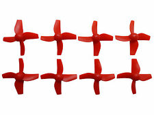 Apex RC Products Inductrix / FPV / E10 Red CW CCW Props - 2 Sets #9060R