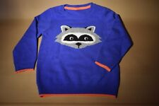 NEW MARKS AND SPENCER BOYS 100% CASHMERE RACOON JUMPER SIZE UK 2-3 YEARS