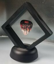 Kiss Band Guitar Pick Display Framed Novelty Music Gift Stanley Simmons Frehley