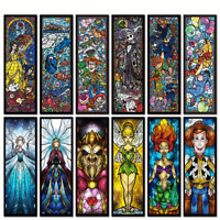 5D Diamond Painting Disney Cartoon Characters 3D Embroidery Home Decor Gift