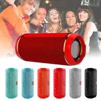 Outdoor Wireless Handfree Speaker Portable USB Radio Stereo Waterproof