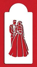 Bride and Groom Cake Stencil by Designer Stencils #C291
