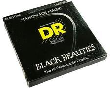 DR Strings Black Beauties Coated Electric Guitar Strings 10-52 BKE-10/52