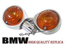 BRAND NEW BMW R25 R26 R27 R50 R60 R69 BAR END SIGNAL LIGHT 1PAIR *MARKED HELLA*