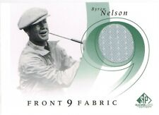 2002 SP Game Used Front 9 Fabric #BN Byron Nelson