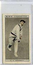 (Gs507-JB) Phillips BDV, Whos Who in Aust Sport, Grimmett / Pearce 1933 VG-EX