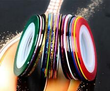 Nail 30Pcs Striping Tape Line Nail Art Decoration Sticker DIY Nail Stickers Mix