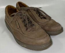 Mephisto Travels' Olive Nubuck Leather Shoes 8 1/2 US Ladies