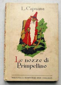 L. Capuana - Le nozze di Primpellino e altre fiabe - Bemporad 1922 - ILL A. BAS