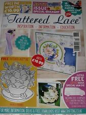 TATTERED LACE MAGAZINE #50 (INCLUDES 2 FREE DIES & CD-ROM) FOR CARDS & SCRAPBOOK