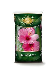 1 Palette Blumenerde Pflanzerde 36x70 Liter Garten Erde Substrat