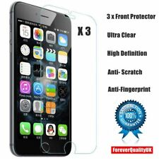 3xClear High Quality Plastic Screen Guard LCD Protector Film For Apple Iphone 6s