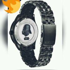 Nuevo ciudadano Guerra De Las Galaxias Darth Vader Edición Limitada Reloj Eco Drive BM7257-57W