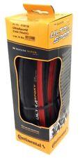 Continental Ultra Sport II Road Bike Tire 700x23c, Red