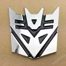 Transformer Autobot Decepticon Badge Emblems Sticker Car Trunk Fuel Tank Motor