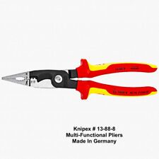 Knipex Multifunction iPliers for Electrical Installation Insulated - Germany