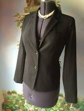 Gap Women's Black Long Sleeve Suit Jacket Blazer Size 4 New