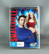 "SMALLVILLE ""THE COMPLETE SEVENTH SEASON"" DVD SET ""REGION 4 PAL""  NEW/SEALED"