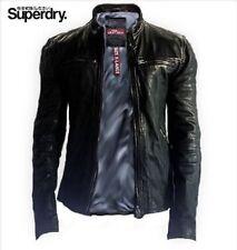Superdry Waist Length Biker Jackets for Men