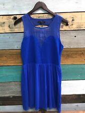 *NEW* Kiwi Tucker Royal Blue Dress Size s Small