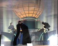Batman Animated BTAS Batman Joker Production Cell AND Background Warner Bros 350