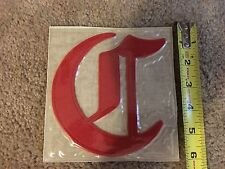 1869 CINCINNATI RED STOCKINGS WILLABEE & WARD COOPERSTOWN COLLECTION PATCH