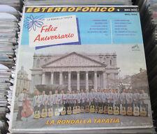 LA RONDALLA TAPATIA FELIZ ANIVERSARIO MEXICAN LP RONDALLA