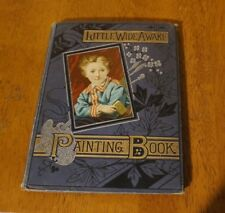 1883 Little Wide Awake Painting Book