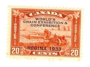 Canada - Regina 1933 - 20 Cent red - MLH - Scott.203