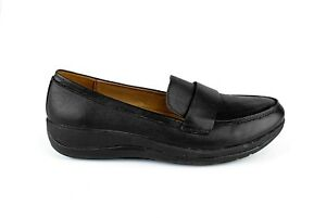 Strive Footwear, Skye Black Women's Orthotic Shoes, built-in Arch Support