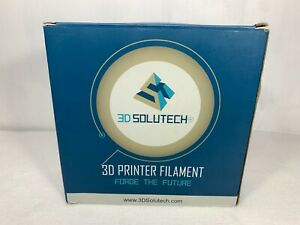 3D Printer Filament by 3D Solutech Natural Clear PLA 1.75 2.2 lbs NEW in BOX