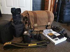 Nikon D7100 REFLEX DIGITALE 24.1MP + Sigma 10-20mm & Sigma 18-200mm lenti e borsa.