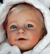 "NUOVO KIT DI Bambola Baby Reborn Lisa di Linde Scherer @New LUCE vinile Doll KIT @ 22"""
