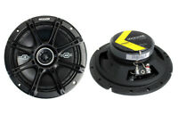 "2) Kicker 41DSC674 D-Series 6.75"" 240W 2-Way 4-Ohm Car Audio Coaxial Speakers"
