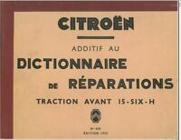 Citroen traction avant 7 11 15 ensemble de manuels d'atelier 2500 pages surCDROM