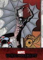 BARON BLOOD / Marvel Beginnings Series 1 BASE Trading Card #47