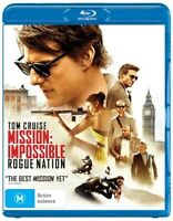 Mission Impossible - Rogue Nation - Rare Blu-Ray Aus Stock -Excellent