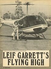 """Leif Garrett - Bay City Rollers - 11"""" x 8"""" Magazine Pinup Mini-Poster Clipping"""
