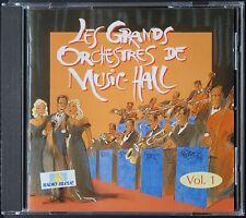 LES GRANDS ORCHESTRES DE MUSIC-HALL  VOL1   CD