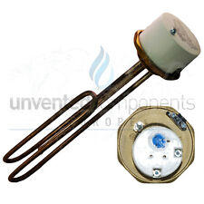 """1 3/4"""" 3kW Incoloy  Immersion Heater 14"""" for Unvented Cylinders"""