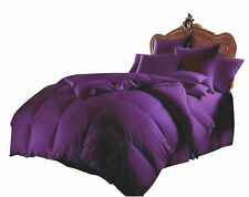 COMFORTER SOLID 100% EGYPTIAN COTTON ALL SIZE AVAILABLE IN PURPLE COLOR