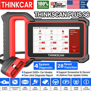 Car OBD2 Scanner Auto Diagnostic Tool SRS ABS TPMS Oil EPB Throttle Code Reader